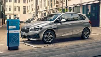 Samochody hybrydowe od BMW.