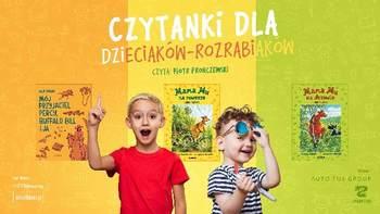 Czytanki dla dzieciaków-rozrabiaków
