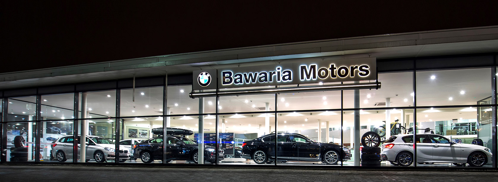 Salon Dealer BMW Bawaria Motors Warszawa.