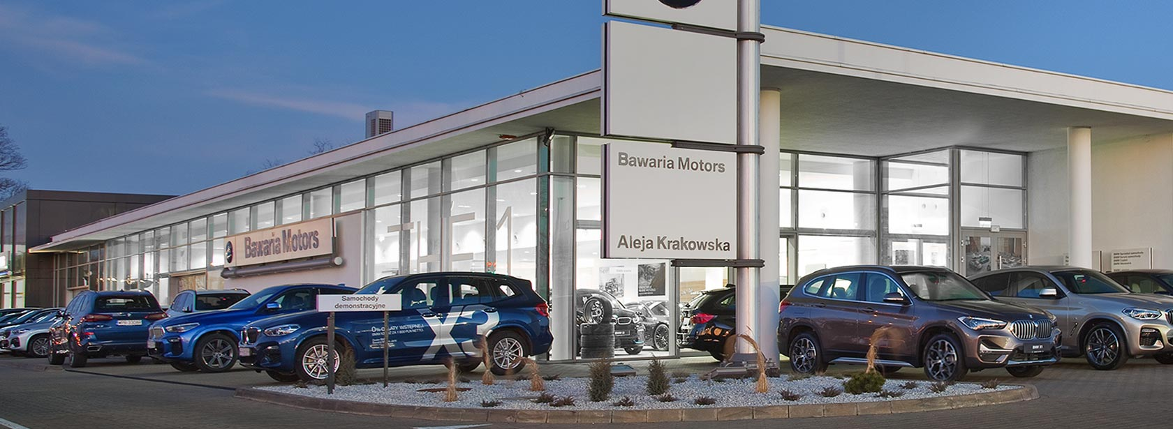Salon Dealer BMW Bawaria Motors Janki.
