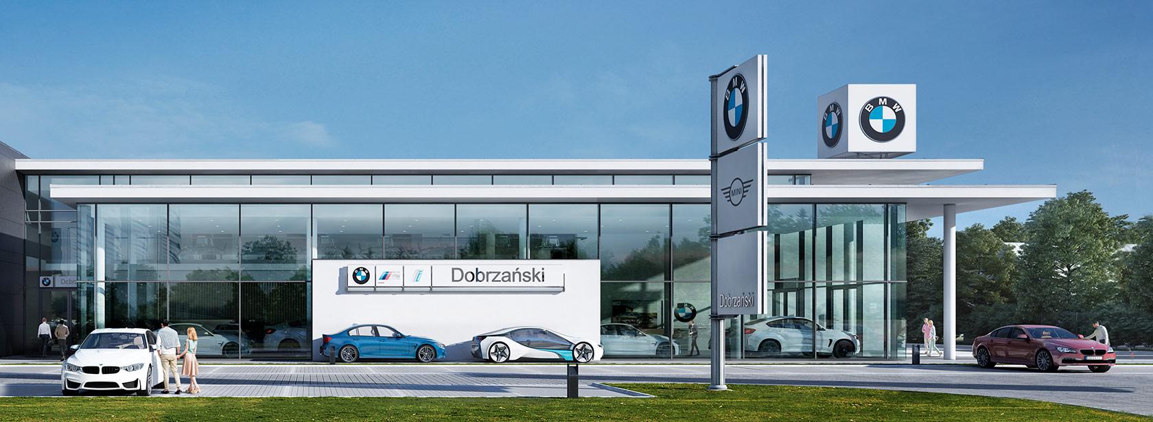 Dealer BMW Dobrzański Rzeszów. Salon BMW.