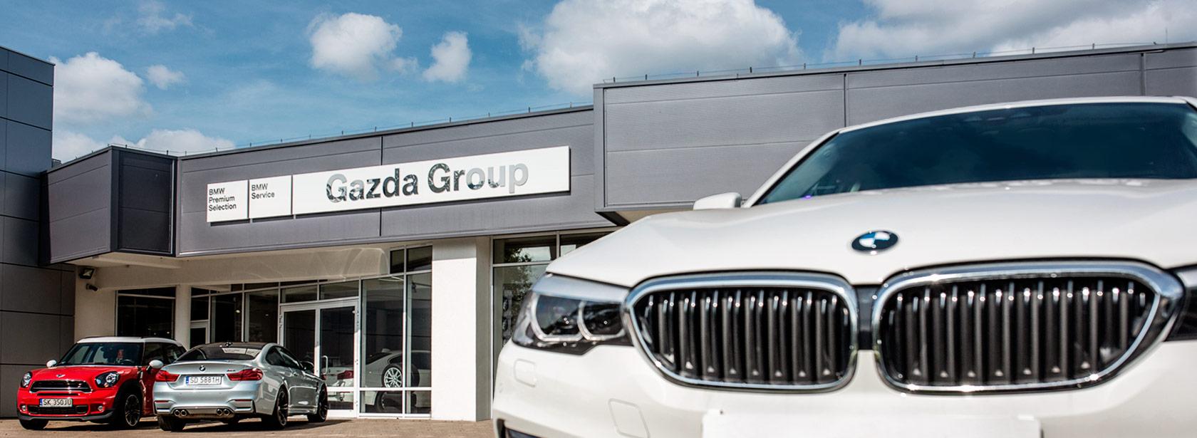 Autoryzowany Serwis BMW Gazda Group Dąbrowa Górnicza.