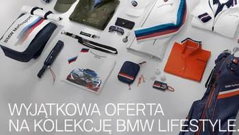 Otrzymaj rabat 15% na wszystkie akcesoria i 30% na kolekcję BMW Lifestyle dostępną w salonie