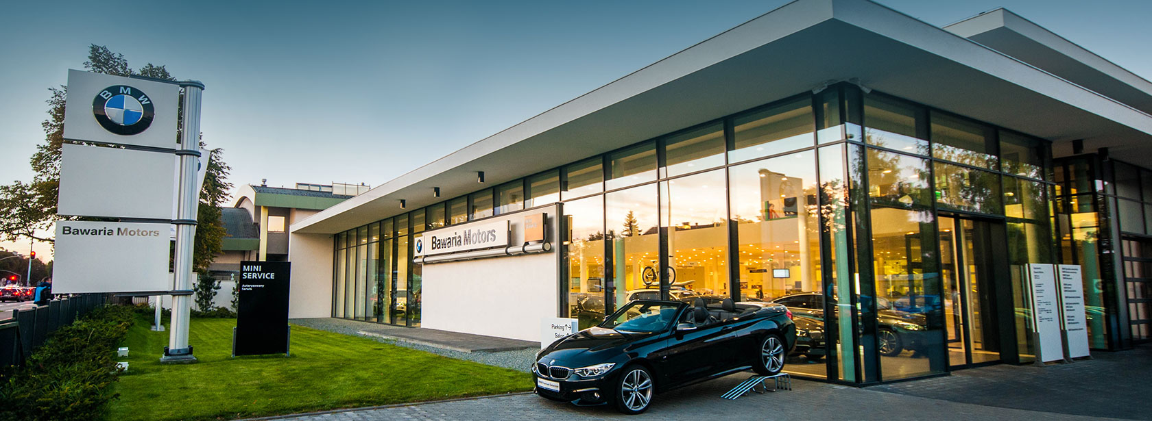 Salon Dealer BMW Bawaria Motors Gdańsk.
