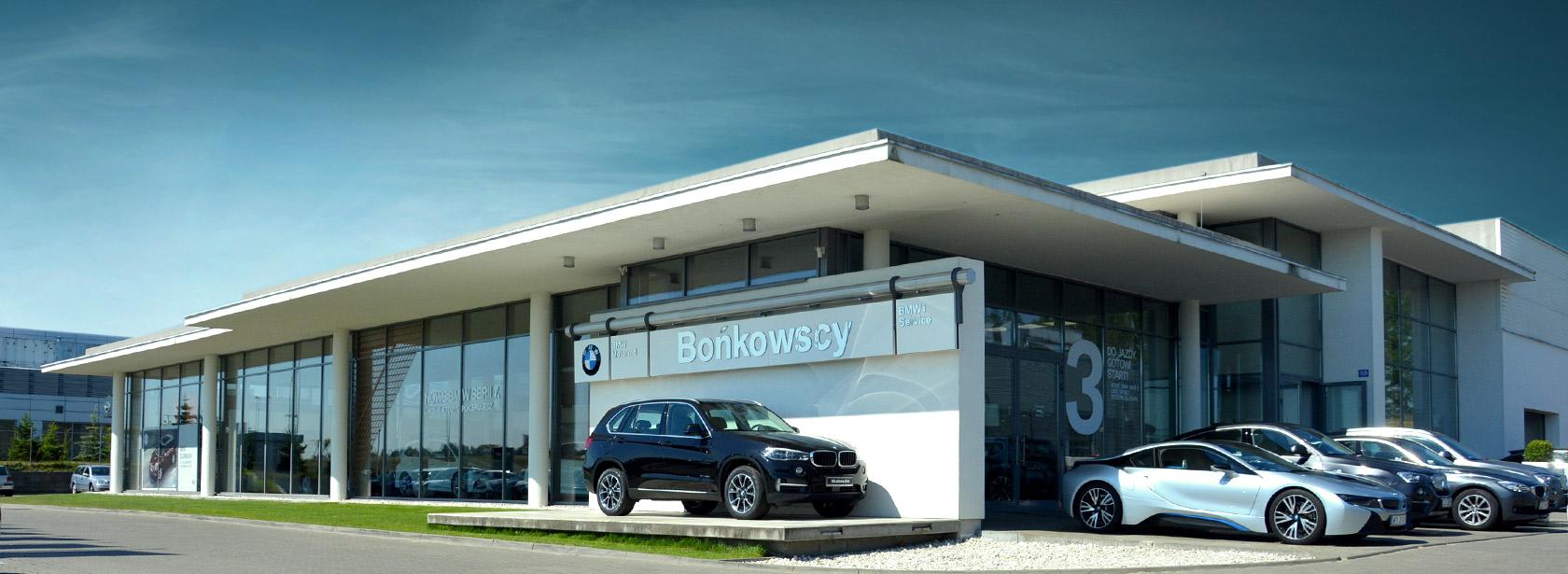 Salon Dealer BMW Bońkowscy.