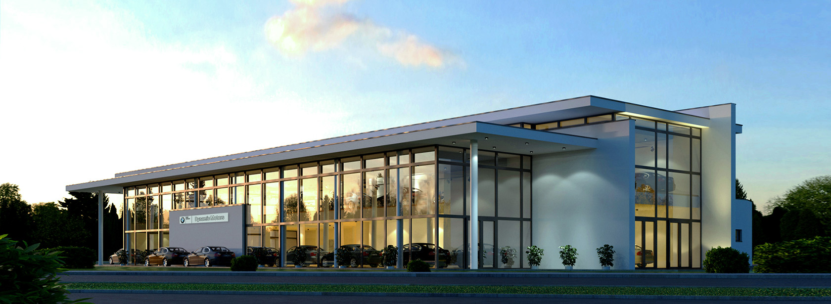Salon Dealer BMW Dynamic Motors Bydgoszcz.