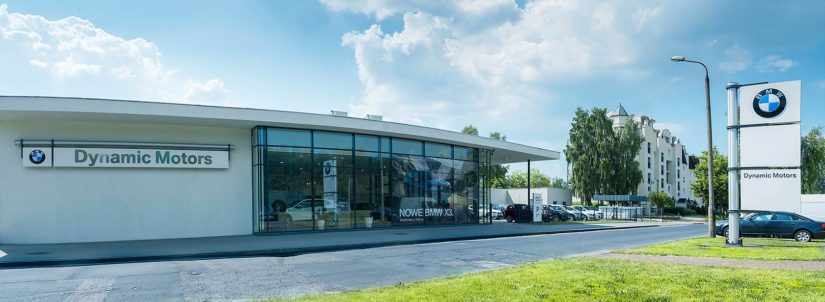 Salon Dealer BMW Dynamic Motors Toruń.