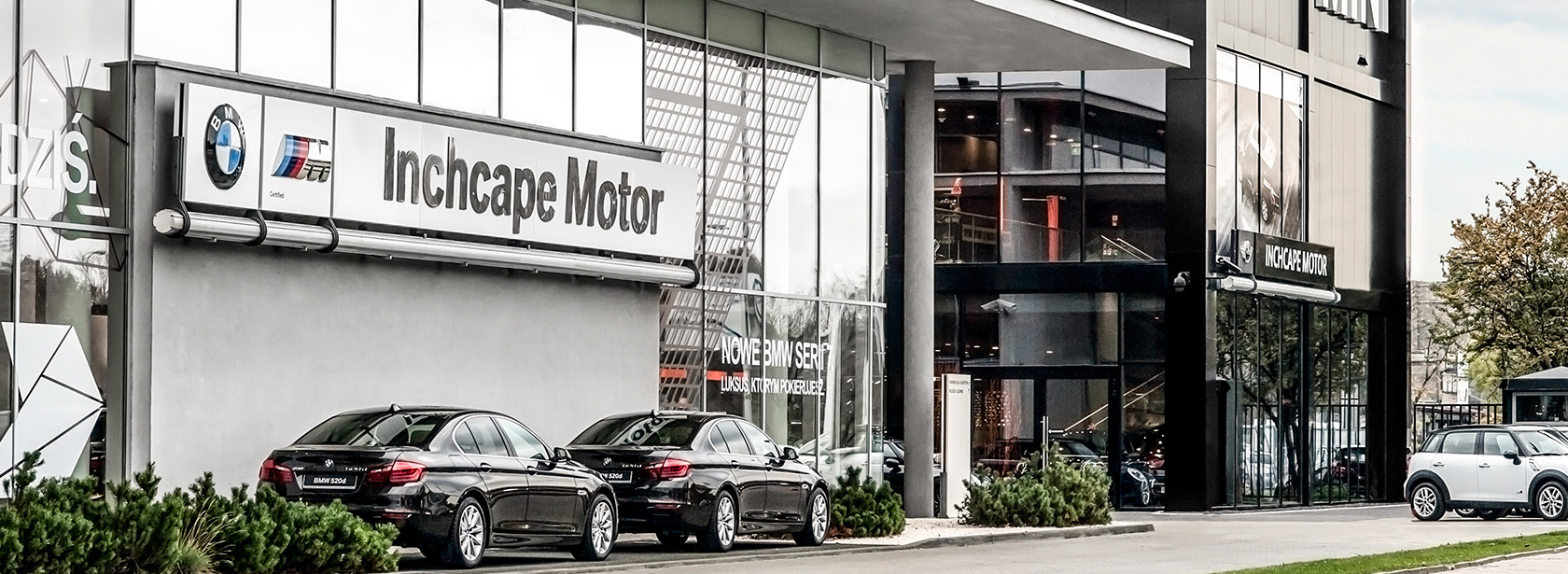Salon Dealer BMW Inchcape Warszawa.