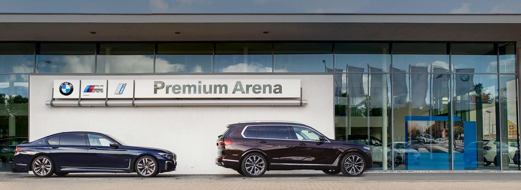 Salon Dealer BMW Premium Arena Łódź.