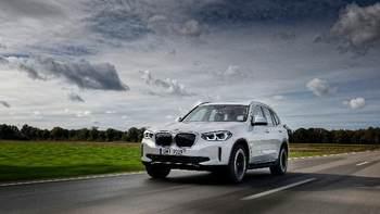 Roadshow BMW iX3. Umów elektryzującą jazdę próbną.
