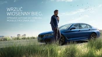 Wrzuć wiosenny bieg. Modele BMW gotowe do odbioru