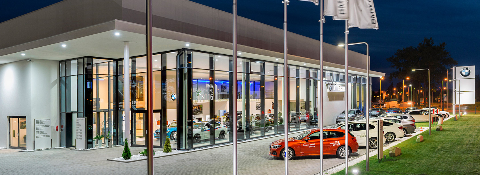 Dealer BMW Sikora Opole. Salon.
