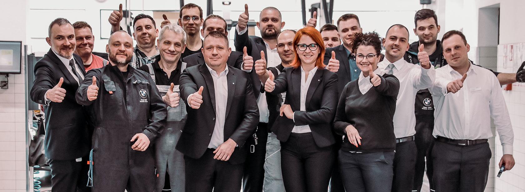Pracownicy w zespole Dealera BMW Dynamic Motors Bydgoszcz