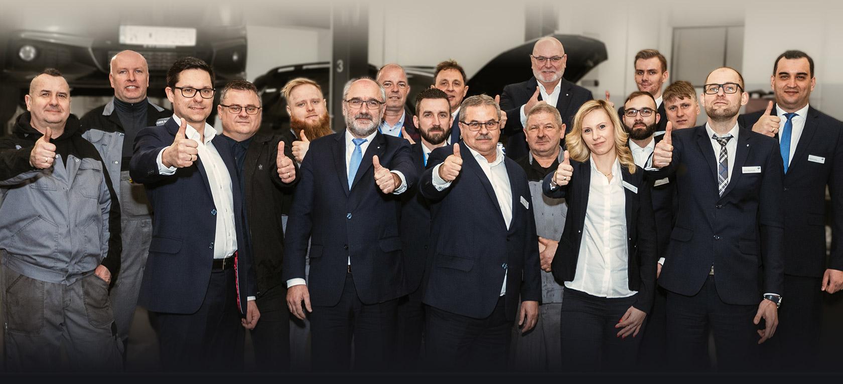 Pracownicy w zespole Dealera BMW Dynamic Motors Płock