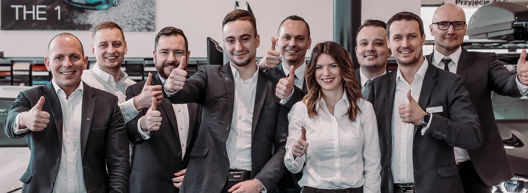 Pracownicy w zespole Dealera BMW Dynamic Motors Toruń