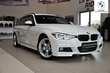 BMW Serii 3 Touring 318d Biały używany Bok