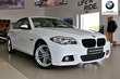BMW Serii 5 Limuzyna F10 520d xDrive Biały używany Bok