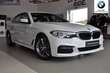 BMW Serii 5 Limuzyna 520d xDrive Biały używany Bok