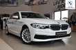 BMW Serii 5 Limuzyna 518d Biały używany Bok