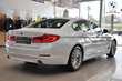 BMW Serii 5 Limuzyna 518d Biały używany Wnętrze