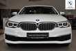 BMW Serii 5 Limuzyna 518d Biały używany Prawy tył