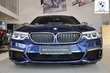 BMW Serii 5 Limuzyna M550d Niebieski używany Prawy tył