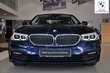 BMW Serii 5 Limuzyna 520d Ciemnoniebieski używany Prawy tył