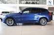 BMW X3 xDrive Niebieski używany Deska rozdzielcza