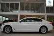 BMW Serii 5 Limuzyna 518d Luxury Line Biały używany Deska rozdzielcza