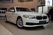BMW Serii 5 Limuzyna 518d Luxury Line Biały używany Bok