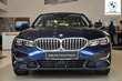 BMW Serii 3 Limuzyna 320d Luxury Line Ciemnoniebieski używany Prawy tył