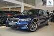 BMW Serii 3 Limuzyna 320d Luxury Line Ciemnoniebieski używany Lewy przód