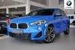 BMW X2 X2 sDrive18d Niebieski używany Lewy przód