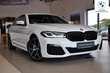 BMW Serii 5 Limuzyna 520d Biały używany Prawy tył