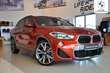 BMW X2 xDrive20d Pomarańczowy używany Bok