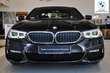 BMW Serii 5 Limuzyna 520d Czarny używany Prawy tył
