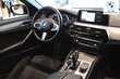 BMW Serii 5 Limuzyna 520d Czarny używany Wnętrze
