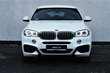 BMW X6 xDrive40d Biały używany Deska rozdzielcza