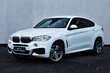 BMW X6 xDrive40d Biały używany Lewy przód