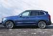 BMW X3 xDrive20d Niebieski używany Bok
