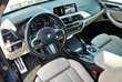 BMW X3 xDrive20d Niebieski używany Deska rozdzielcza