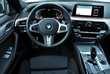 BMW 5 Series Active Hybrid 530e xDrive M Sport Biały używany Wnętrze
