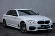 BMW 5 Series Active Hybrid 530e xDrive M Sport Biały używany Prawy tył