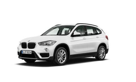 BMW X1 sDrive18d Biały