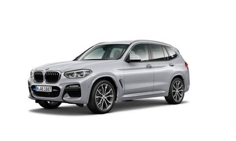 BMW X3 xDrive20d M Sport Jasnoszary