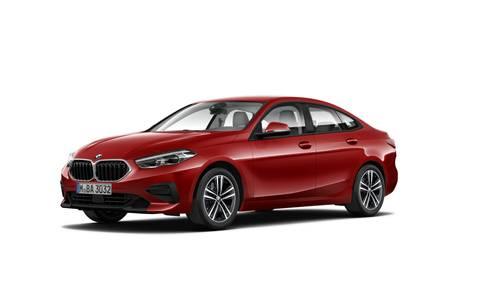 BMW Seria 2 Gran Coupé 218 i Advantage Czerwony