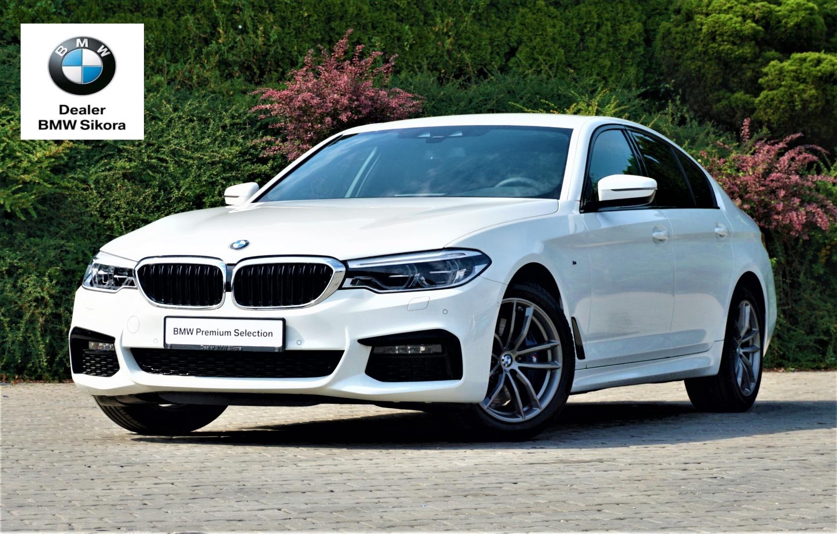BMW Serii 5 Limuzyna 530i xDrive M Sport Biały | Dealer BMW